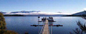 Lake Te Anau jetty